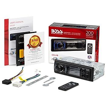 Boss Audio 616uab Car Stereo, Single Din, Bluetooth, Usbmp3wma Amfm Radio 5