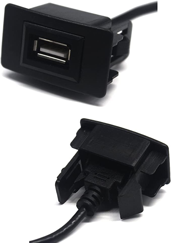Honda USB 2.0 Charger MOTONG Male To Female USB Cable Charger For Honda BRIO//JAZZ//CITY//CIVIC//ACCORD//CRV//FREED 44 26mm 4327076757
