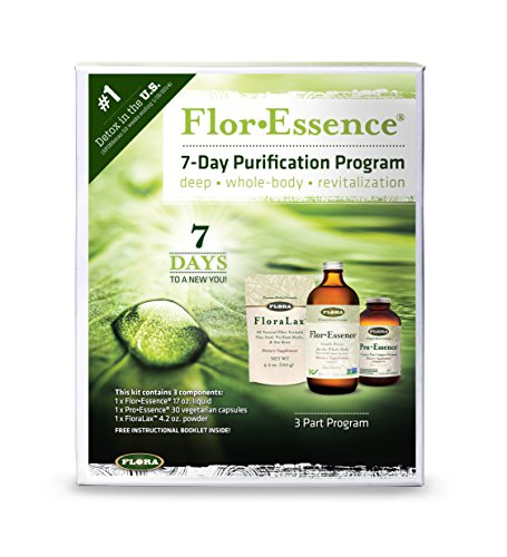 - Flor Essence 7 Day Complete Body Detox & Cleanse Kit - Organic & Non GMO