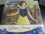 Mega Puzzles, Disney Artist Series, Portrait of Innocence [Snow White and the Seven Dwarfs], 1,000 Pieces