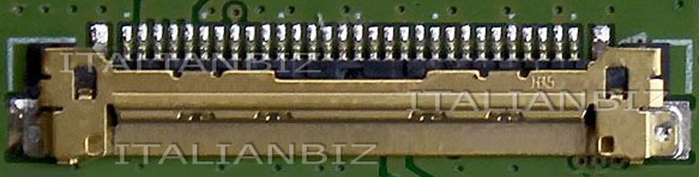N6A19EA 15-ac085nl 15-ac083nl Schermo display LED 15.6 slim 30 pin compatibile per HP 15-ac076nl N3X64EA N6A17EA 15-ac078nl N6A15EA N3Y00EA 15-ac079nl N6A21EA 15-ac081nl