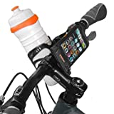 Bicycle Weather Resistant Smart Phone Handle Bar Mount Bag for IPhone, BlackBerry, and HTC(with Front bottle Cage Mount), Best Gadgets