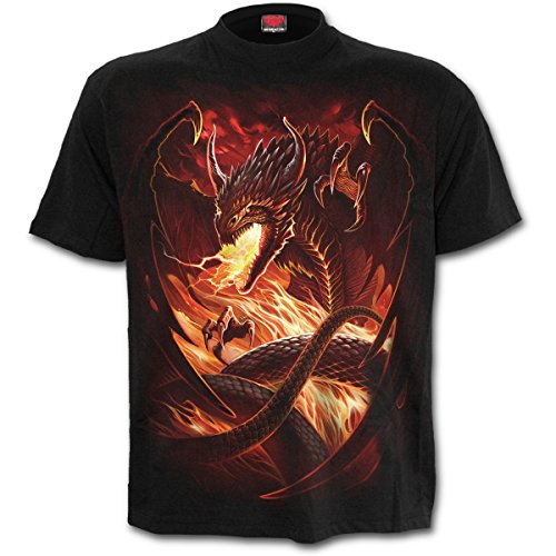 Spiral Dragons Wrath T-Shirt schwarz S