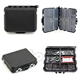 NEW Waterproof Fishing Lure Tackle Hook Bait Storage Box Case With 26 Compartments