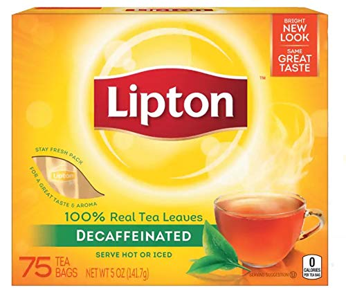 LIP290 - Tea Bags Decaffeinated - Lipton Decaffeinated Tea