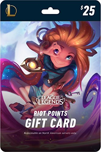 League of Legends $25 Gift Card – 3500 Riot Points - NA Server Only [Online Game Code] by Riot Games