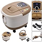 Giantex Portable Foot Spa Bath Massager Bubble Heat LED Display Infrared Relax