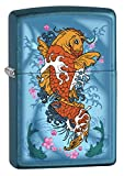Zippo Lighter: Koi Fish - Cerulean 78300
