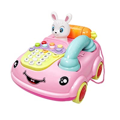 Telephone Toy For 3-12 Month Baby, Toy Phone Gift 1-3 Year Old Baby Boy Girl Retro Toys For 6-18 Months Girl Kid Children Toy Gift 9-24 Months Toddlers Boy Phone Toy Age 1 2 3 Birthday Gift Babies: Home & Kitchen