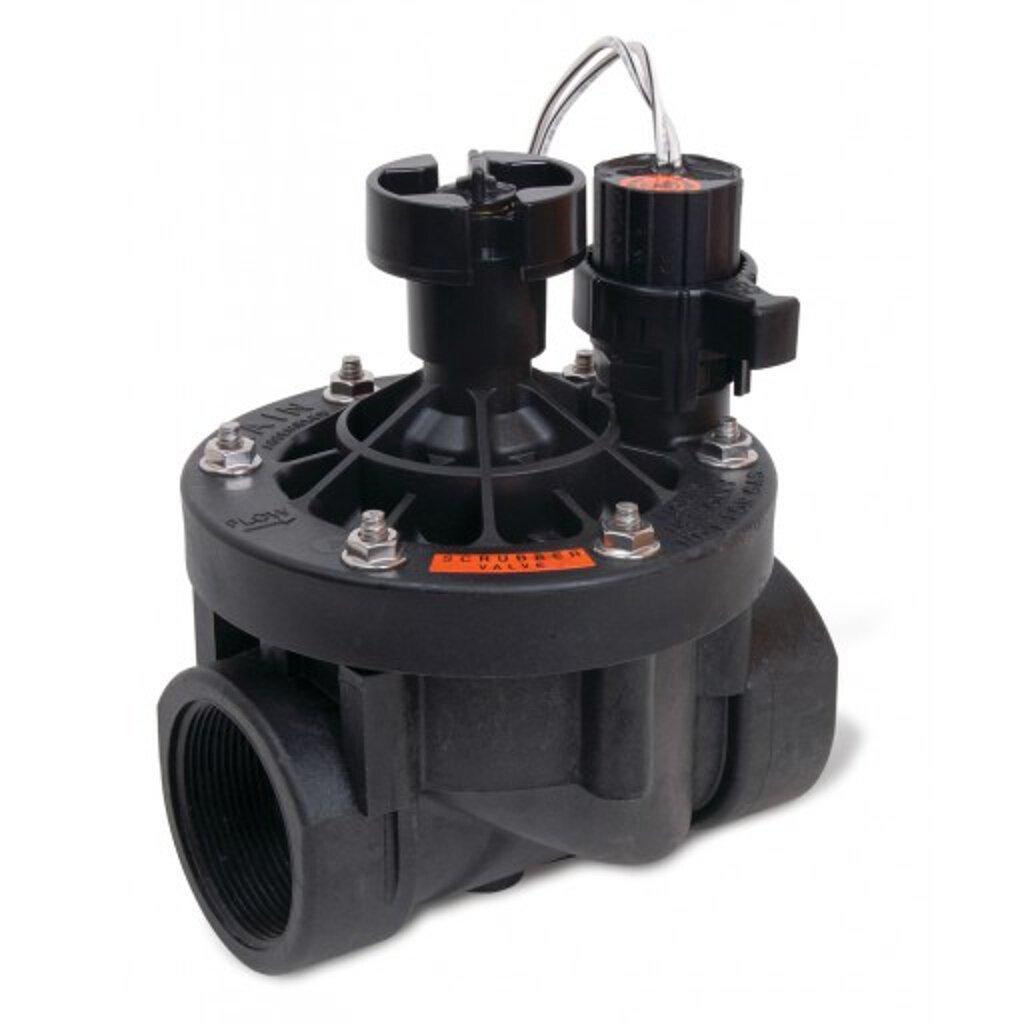 Rainbird Plastic PESB Series Electric Remote Control Scrubber Valve, 2''/24VAC by Rain Bird