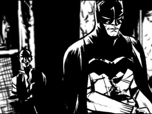 Amazon.com: Batman Black and White Motion Comics: Amazon ...