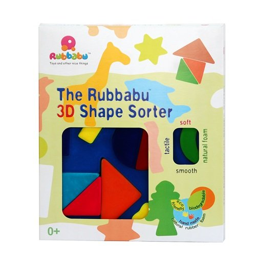 Rubbabu 20077Sorter 3d géométrique Forme jouet