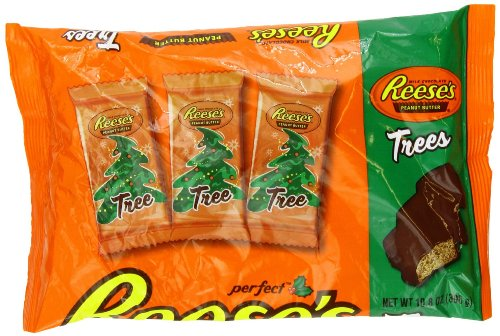(Reese's Holiday Peanut Butter Trees, 10.8-Ounce Bags (Pack of 2) )