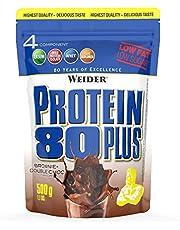 Weider Weider Protein 80 Plus proteinpulver jordgubb låg koldioxid multikomponenter kasein Whey