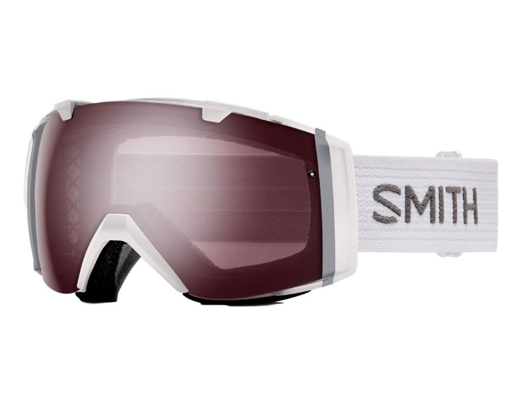 Smith Optics I/O Adult Snowmobile Goggles White / Ignitor Mirror by Smith Optics