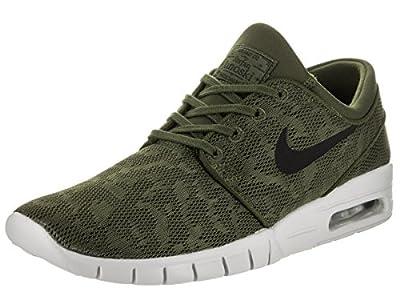 Nike Men's Stefan Janoski Max Grün/Green/Black/'Khaki/Sneakers - 6 D(M) US