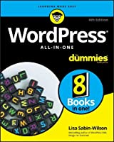 WordPress All-In-One For Dummies, 4th Edition Front Cover