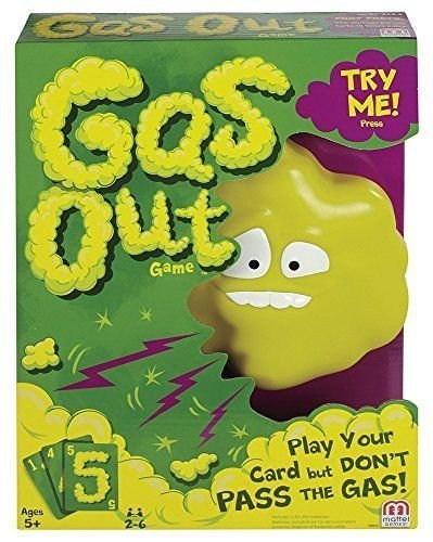Indoor Fun Gas Out Board Game Kids HOT - Hours Years New Macy Eve