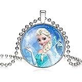 Frozen Elsa Princess Necklace for Girls Kids | Frozen Necklace a Perfect Gift for Girls Kids