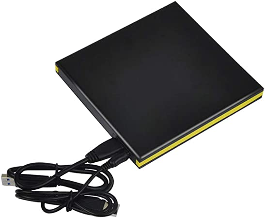 Arichtop Estuche de Unidad de DVD DVD USB 3.0 portátil de 12.7 mm, Unidad USB portátil Unidad de Unidades ópticas externas Estuche para computadora portátil Portátil Sin Unidad: Amazon.es: Hogar