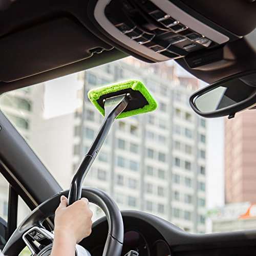 1pcs Funcation Portable Windshield Easy Cleaner Window Handle Cleaning On Your Car Or Home Cleaning Tools