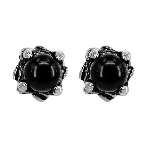 e8bf638a7162d Variety Vintage Punk Surgical Steel Cubic Zircon Stud Earrings  Hypoallergenic Ear Stud for Men Women