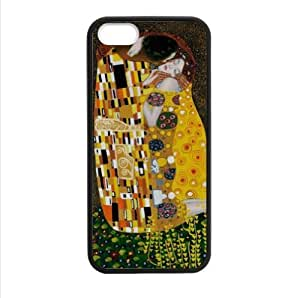 diy phone caseCase - Customized The Kiss by Gustav Klimt Apple iphone 5 or 5s TPU (Laser Technology) Case, Cell Phone Coverdiy phone case