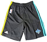 adidas New Orleans Hornets Youth Black Pre-Game Performance Shorts (Large) offers