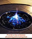 GASPRO 24 Inch Round Fire Pit Burner Ring for