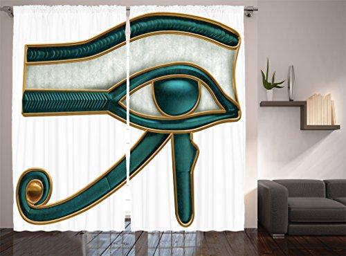 Teal curtains 90x90 - StoreIadore