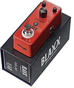 stagg bx delay blaxx series delay effect pedal for guitar musical instruments. Black Bedroom Furniture Sets. Home Design Ideas