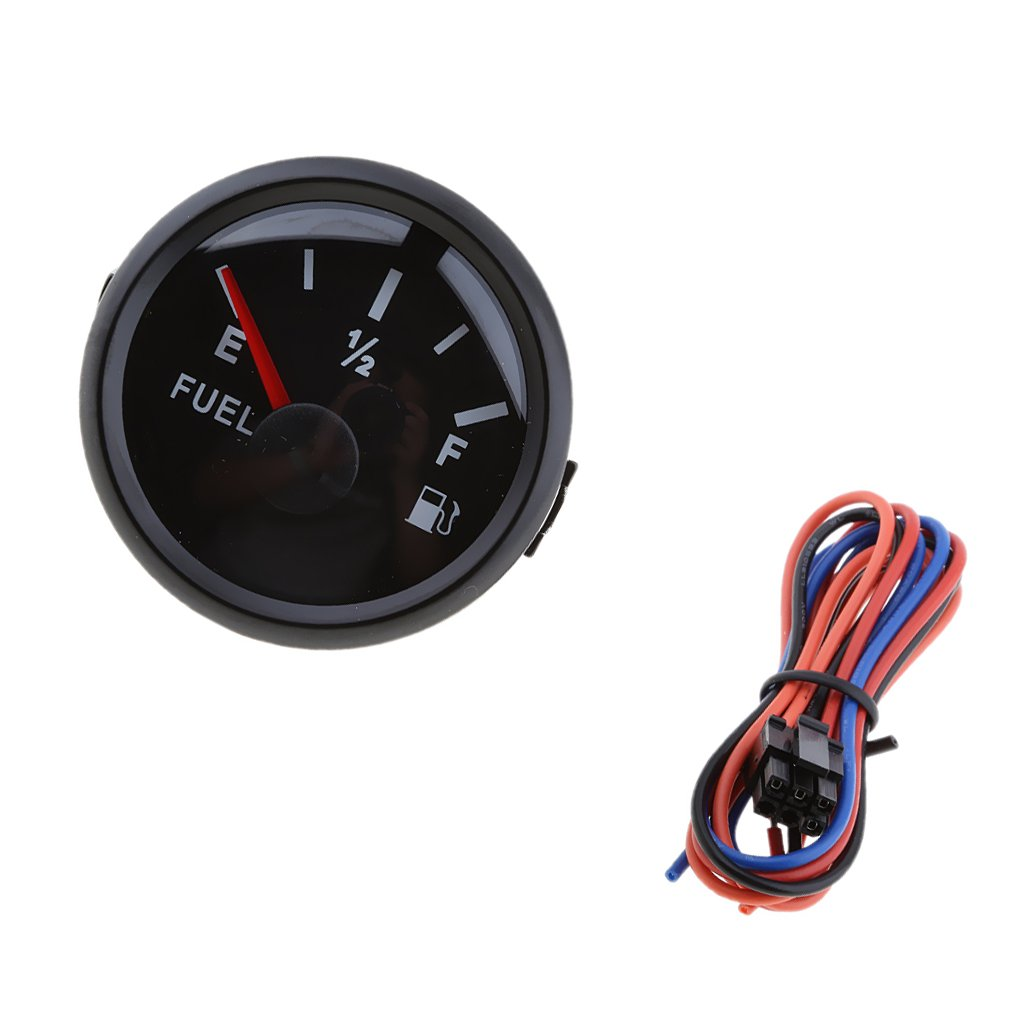 Baoblaze Marine Boat Fuel Oil Tank Level Gauge Indicator 2