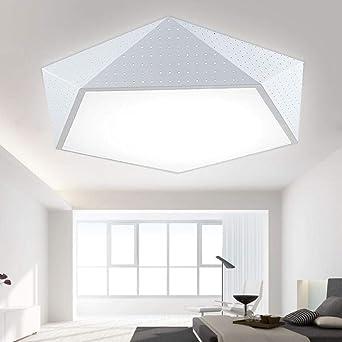 Lámpara de techo del dormitorio moda simple lámpara de techo ...