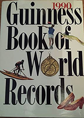 1990 Guiness Book Of World Records
