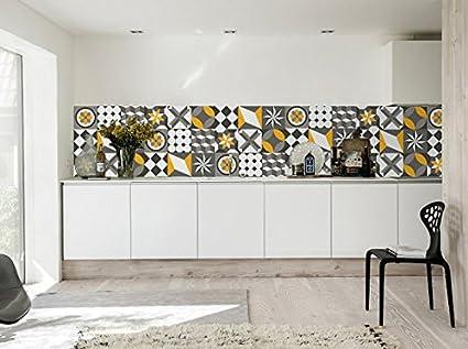 Adesivi per piastrelle confezioni con 36 piastrelle 30 x 30 cm