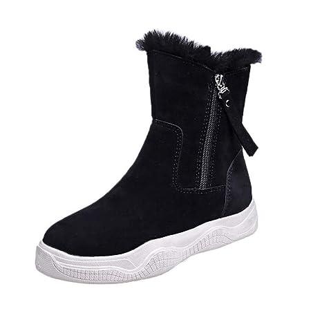 Botas de Nieve para Mujer, además de Terciopelo cálido, frío