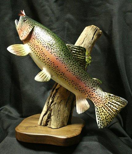 Rainbow Trout Sculpture ()