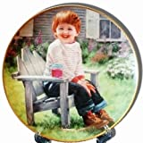 """A Time To Laugh"" Collector's Plate by Abbie Williams, from the ""Our Children, Our Future"" March of Dimes Collection"