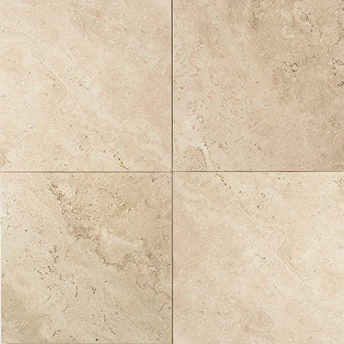 Travertine Baja Cream 12 in. x 12 in. Natural Stone Floor and Wall Tile (10 sq. ft. / case) - Daltile Natural Stone