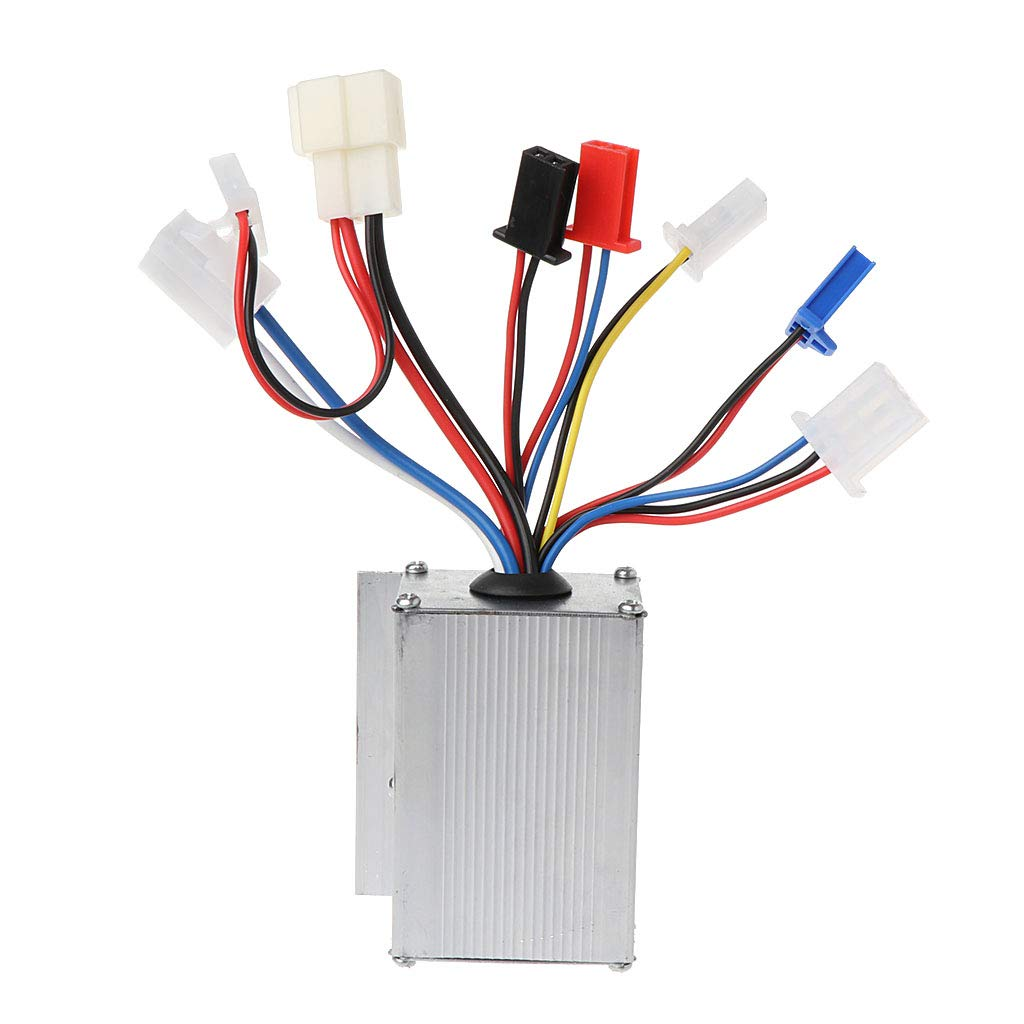 Qianqian56 DC 24V 250W Motor Speed Brush Controller for Electric Bike Scooter