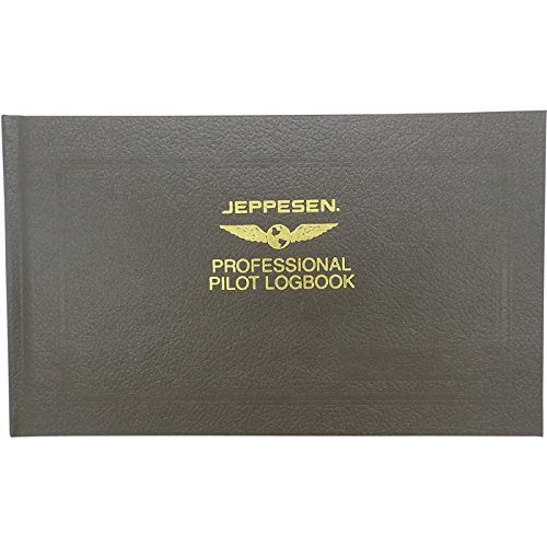 Jeppesen Professional Pilot Logbook (Pilot Log Book)
