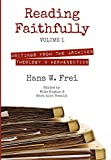 img - for Reading Faithfully, Volume 1 book / textbook / text book