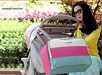 44e062b1559 Amazon.com : fashion luiertas baby bag maternity messenger bag/high quality  baby bags for mom : Baby