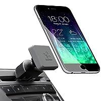 Koomus Pro CD-M Soporte universal para soporte de coche para smartphone, sin cuna, ranura para CD, para todos los dispositivos iPhone y Android