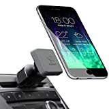 Koomus Pro CD-M Universal CD Slot Magnetic Cradle-less Smartphone Car Mount Holder for all iPhone and Android Devices, Single