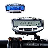 Asatr Bike Computer Bicycle Speedometer LCD Display Odometer Cycling Multi Function