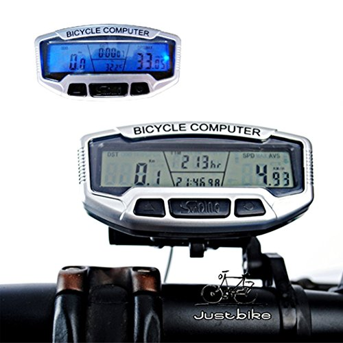 Asatr Bike Computer Bicycle Speedometer LCD Display Odometer Cycling Multi Function by Asatr