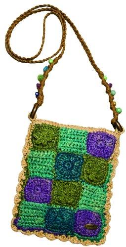 Cappelli Straworld a rotolo di sacchetti Stile: PATCHWORK, colore viola