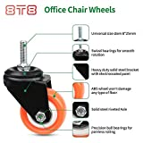 """8T8 Replacement 2"""" Office Chair Threaded Stem"""
