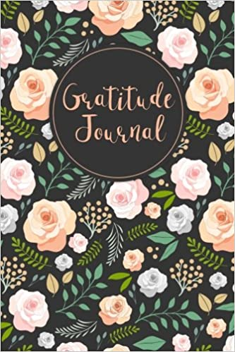 Gratitude Journal Hand Drawn Roses 52 Weeks Writing Cultivating